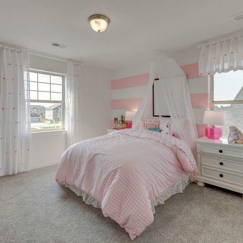 Plan C505 Bedroom Representative Image