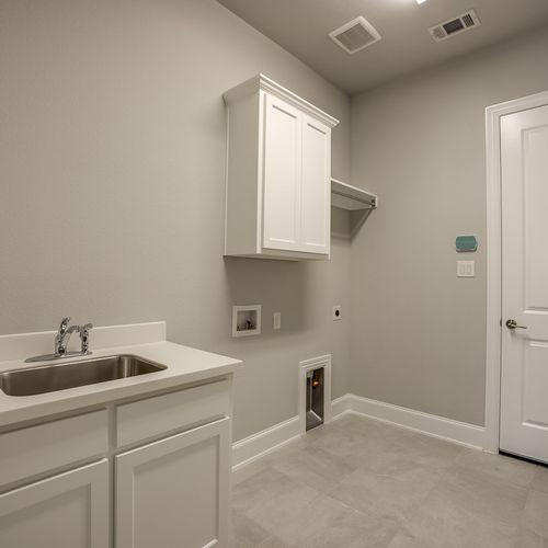 Plan 826 Laundry Room Representative Image