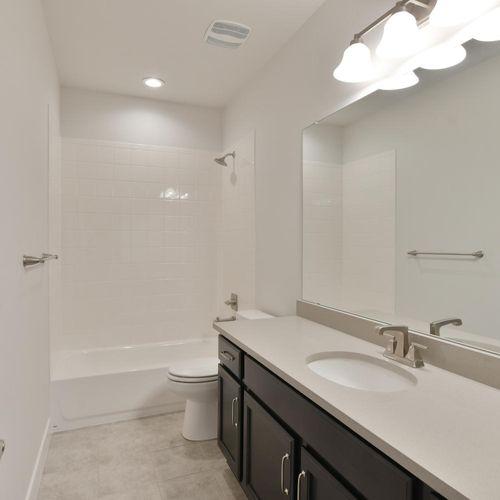 Plan C501 Secondary Bathroom Representative Image