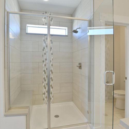 Plan C501 Primary Bathroom Representative Image