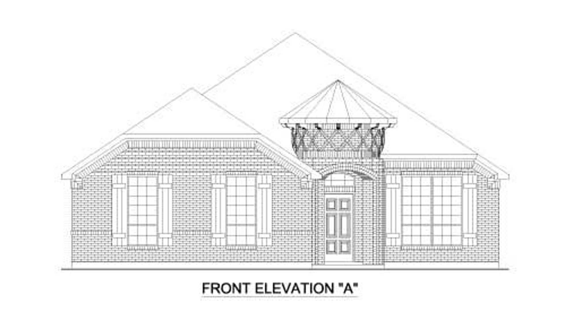 1872 Elevation A