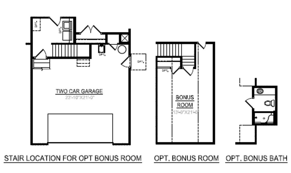 Bedford - Second Floor / Bonus Room *