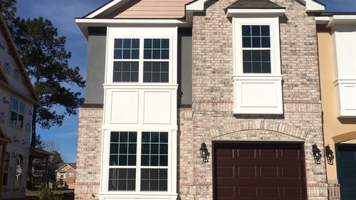 Front View - Village at Guste Island Town Home - DSLD Homes Madisonville