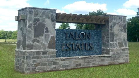 Front Entrance Sign - Talon Estates - Broussard, Louisiana - DSLD Homes