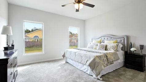 Master Suite - Bridgewood - DSLD Homes D'Iberville