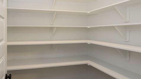 Oldtown II D - Open Floor Plan - DSLD Homes - Walk-in pantry