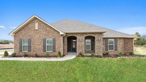 Fillmore IV H Floor Plan - DSLD Homes - Front of Model Home