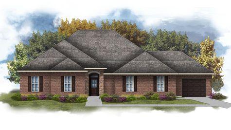 Carver III E - Front Elevation - DSLD Homes