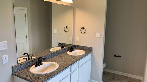 Master Bathroom Vanity - Belle Savanne Community - DSLD Homes Sulphur
