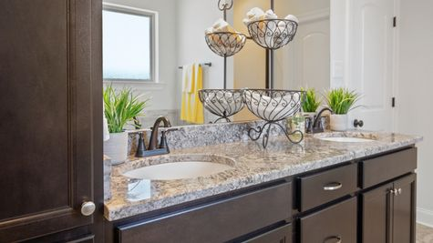Master Bathroom with Vanity - Hatten Farms - DSLD Homes Gulfport