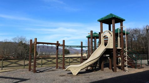 Community Playground - Nature's Cove - DSLD Homes Huntsville