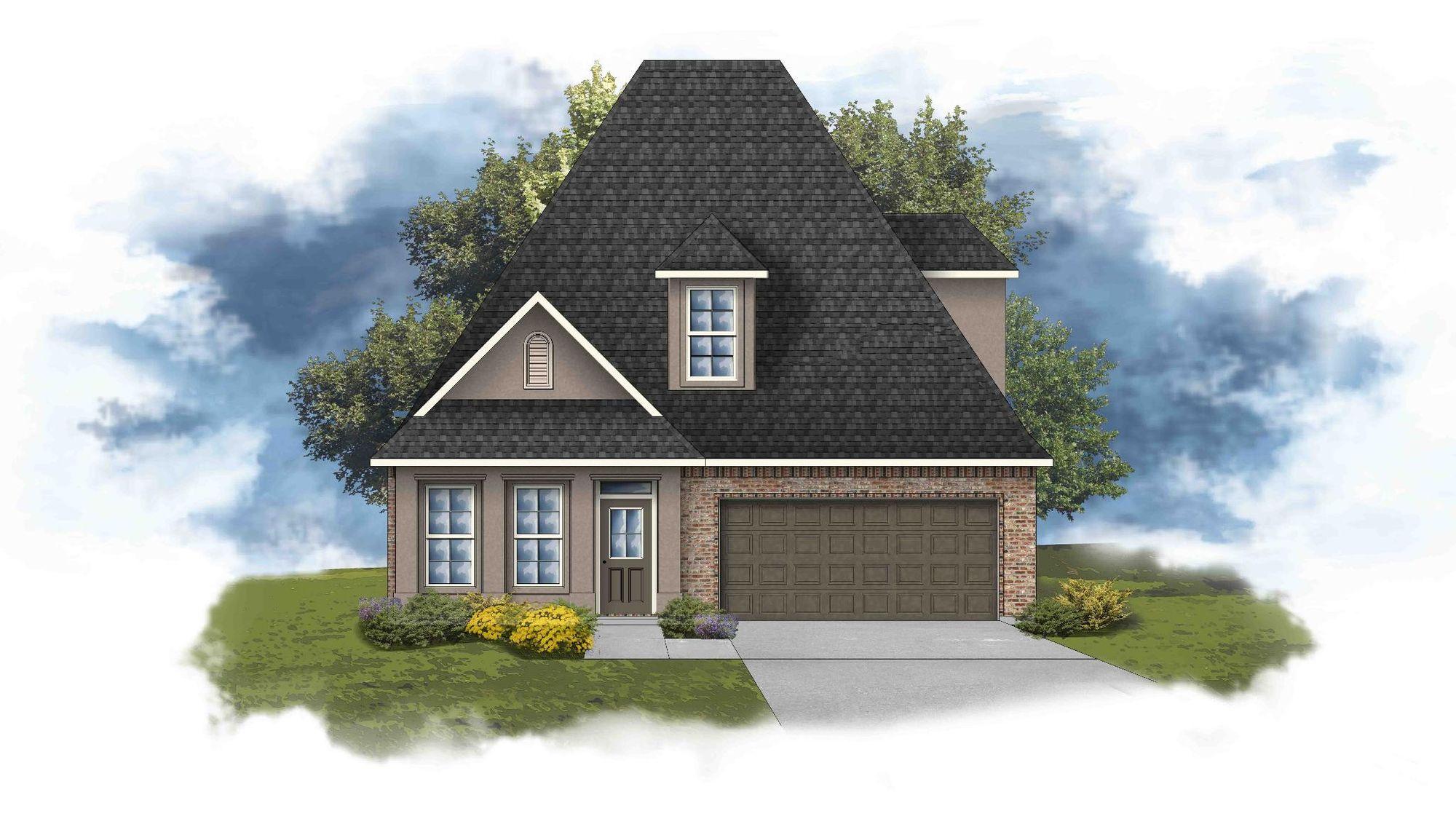 Celestine III B - PB - Open Floor Plan - DSLD Homes