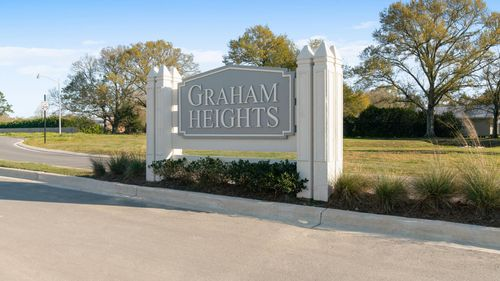 DSLD Homes New Construction Community - Graham Heights - Community sign- Lafayette, LA