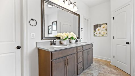 Jackson Court Model Home- Master Bathroom - DSLD Homes - Covington