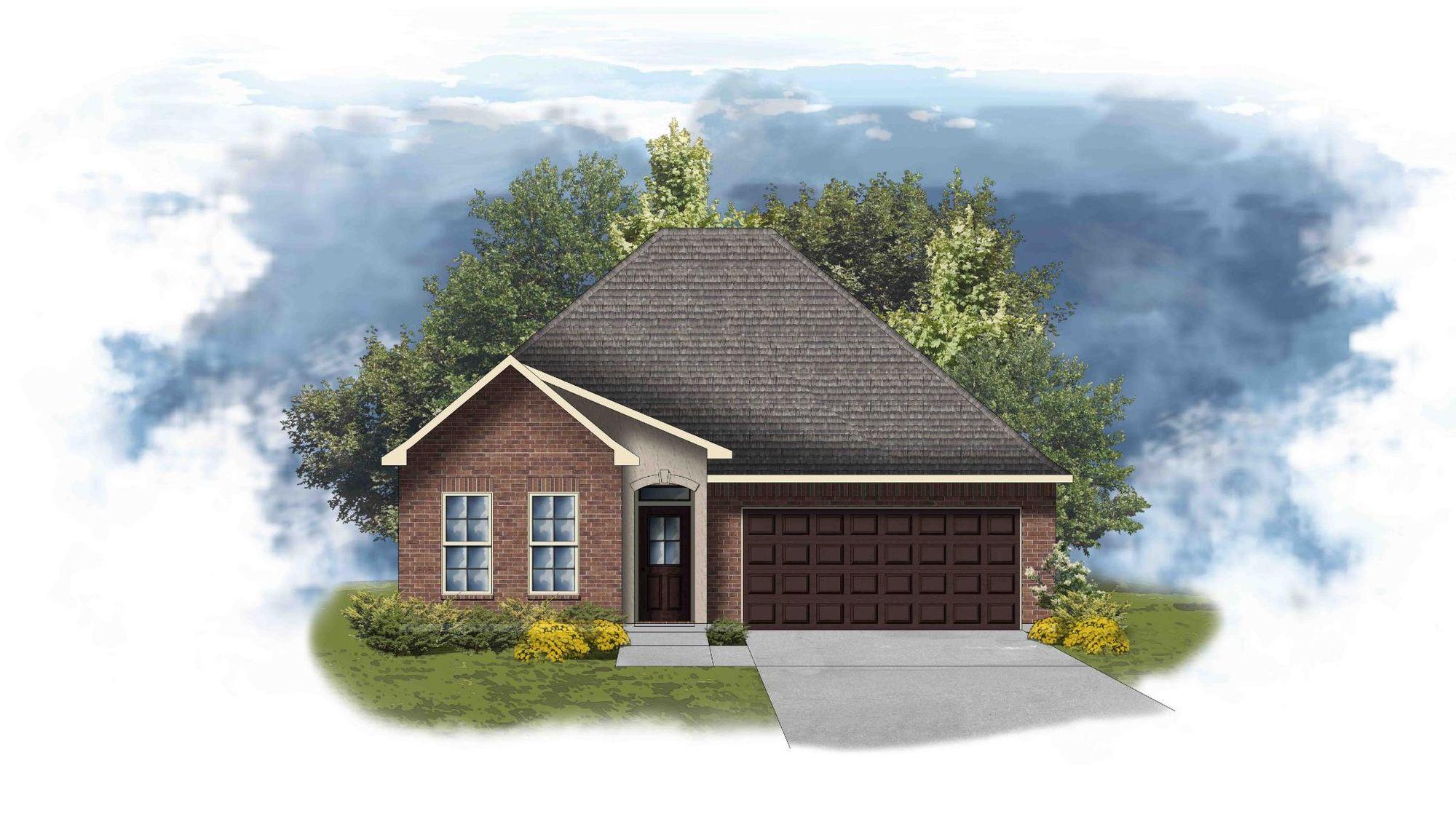 Orchid II B -  Open and Split Floor Plan - DSLD Homes