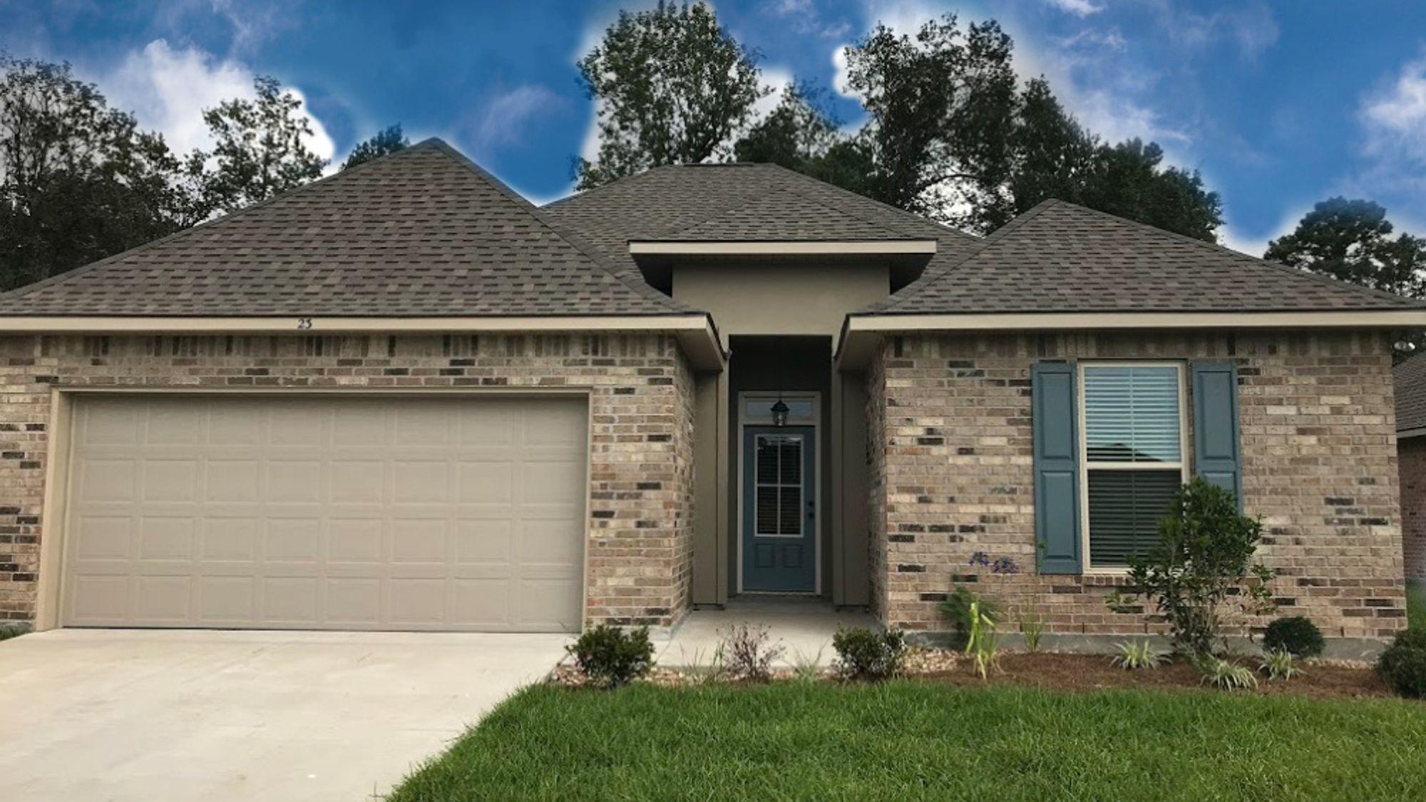 Front View - Maple Creek Community - DSLD Homes Sulphur