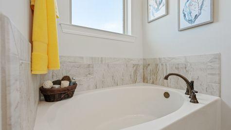 Master Bathroom tub - Hatten Farms - DSLD Homes Gulfport