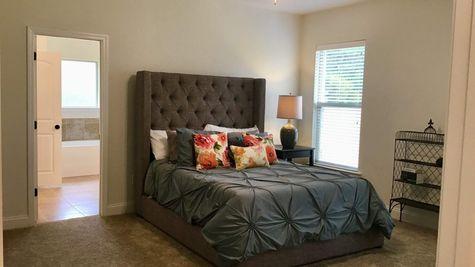 Master Bedroom - DSLD Homes Summerdale - Annabelle Junction