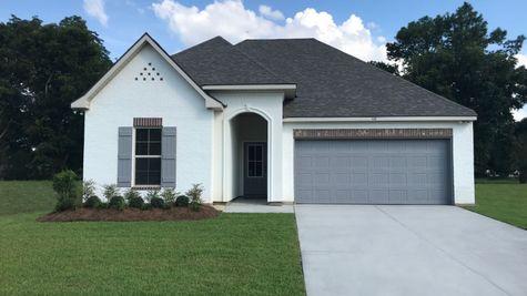 Model Home Exterior - Talon Estates - Broussard, Louisiana - DSLD Homes