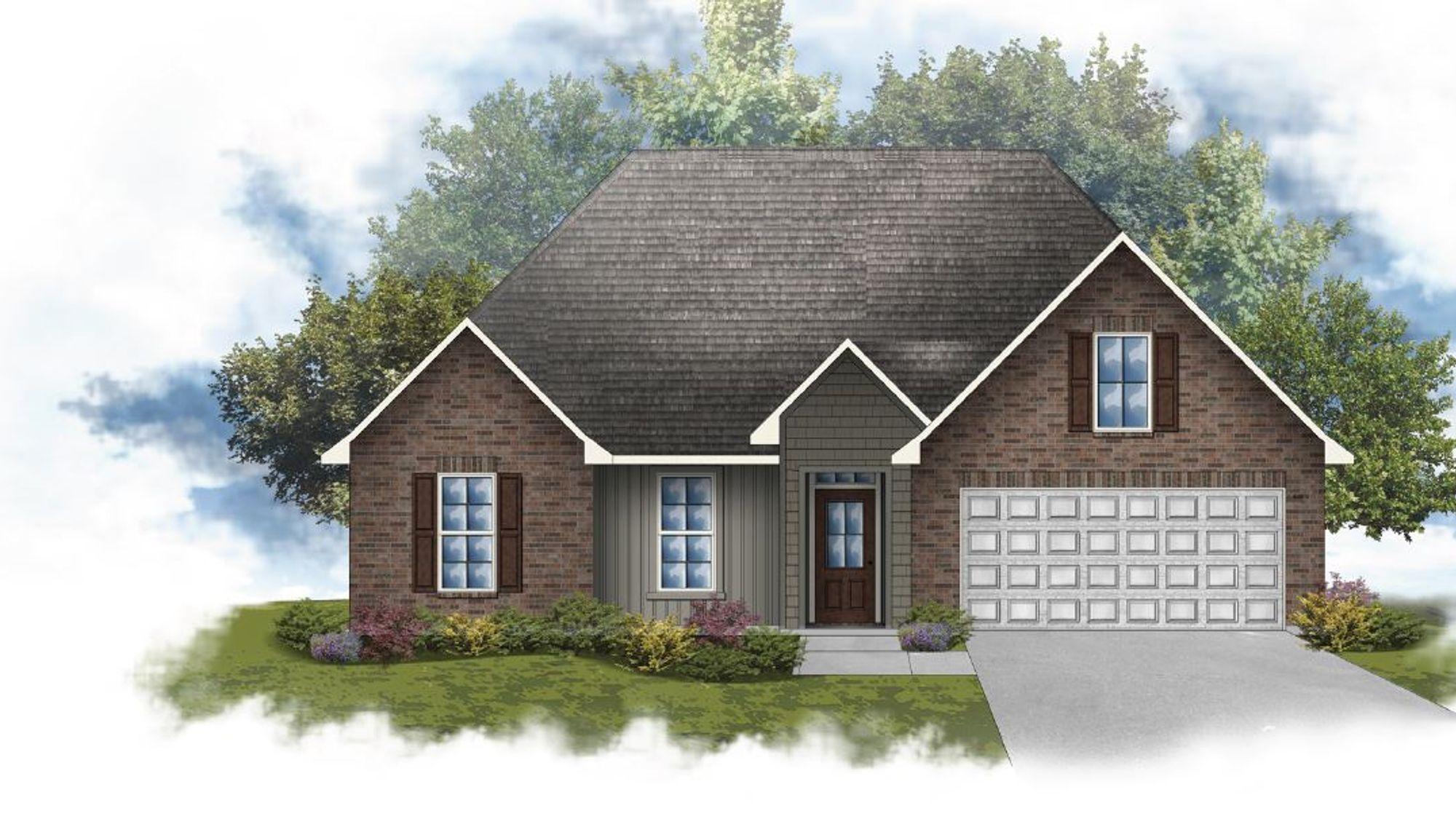 Rosman IV H - Open Floor Plan - DSLD Homes