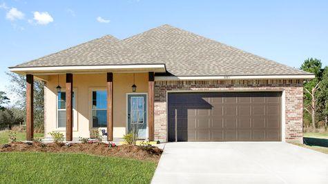 DSLD Homes- Iowa Louisiana- Oak Grove Model Home