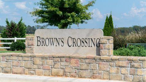 Front Entrance - Browns Crossing - DSLD Homes Huntsville