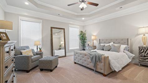 Fillmore IV H Floor Plan - DSLD Homes -  Master bedroom suite