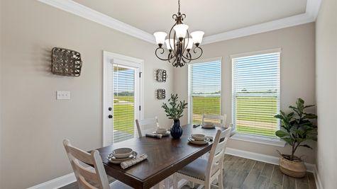 Somerset Park Model Home Dining Room - DSLD Homes - Sterlington, LA