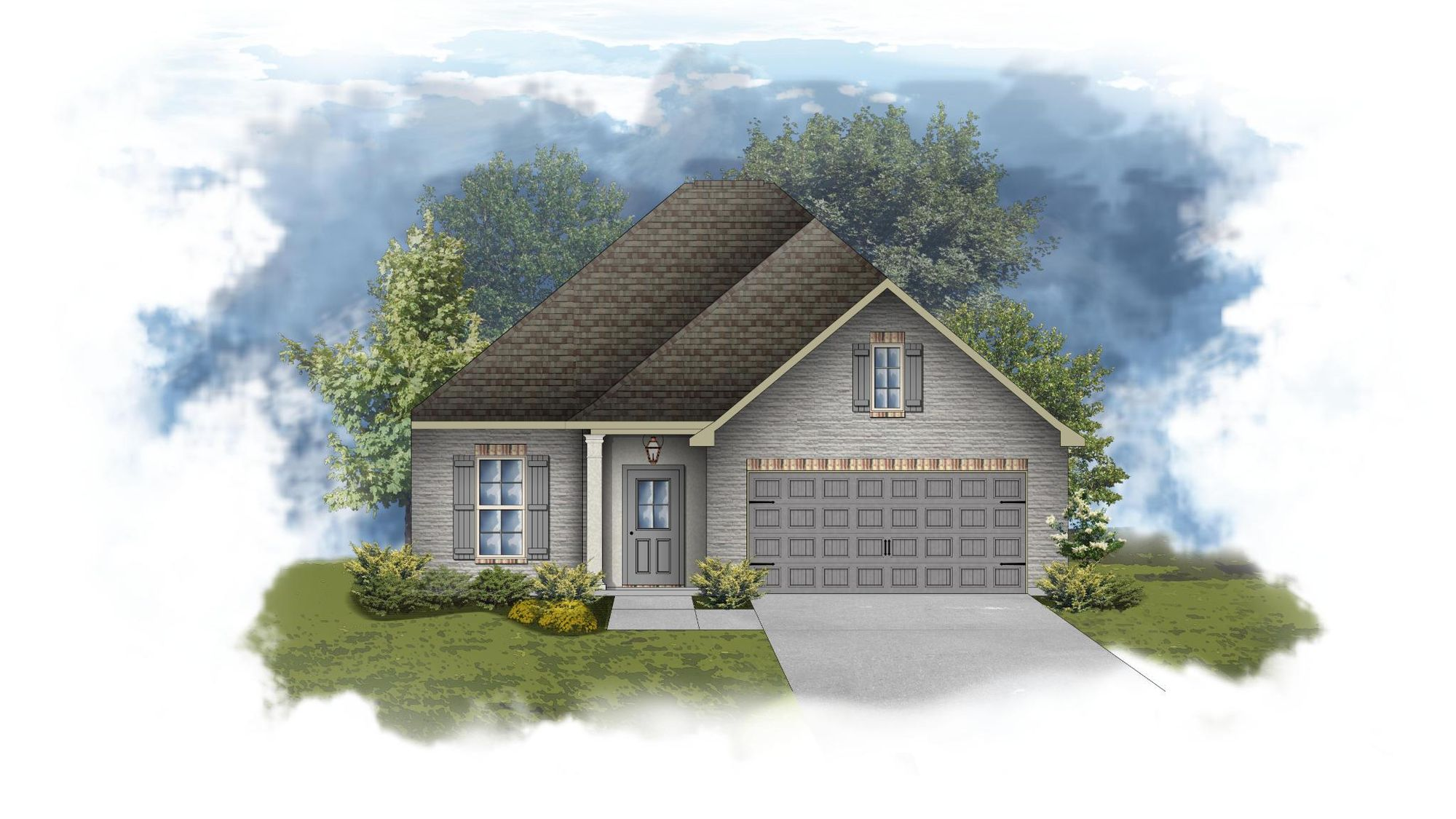Dante III A - PB - Front Elevation - DSLD Homes