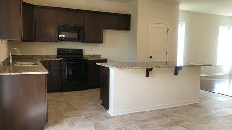 YERING II A  Elevation – Brown Kitchen - BELLE SAVANNE Community - DSLD Homes - SULPHUR, LA