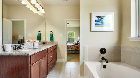 Master Bathroom  - Reunion Place - DSLD Homes Biloxi
