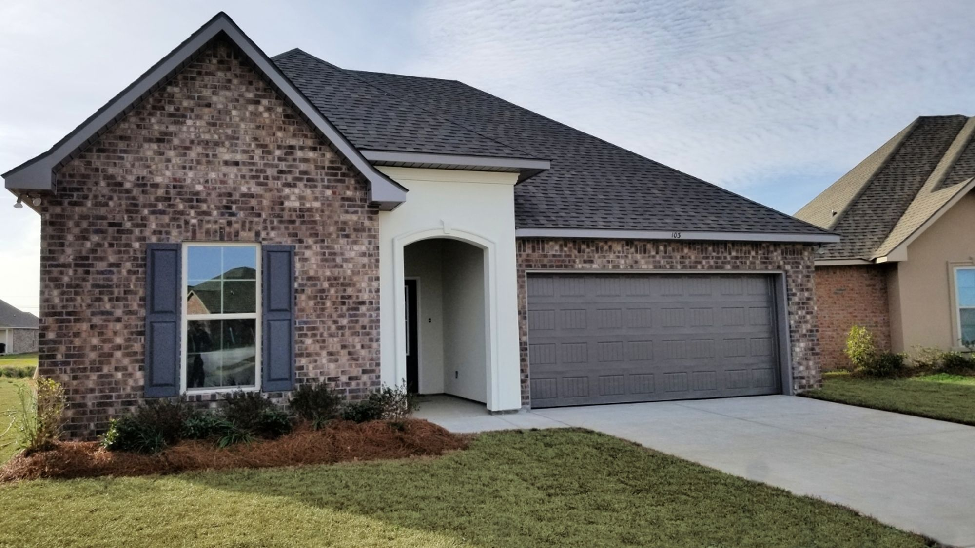 Front View - Townsend III A - Summerview Community - DSLD Homes Duson