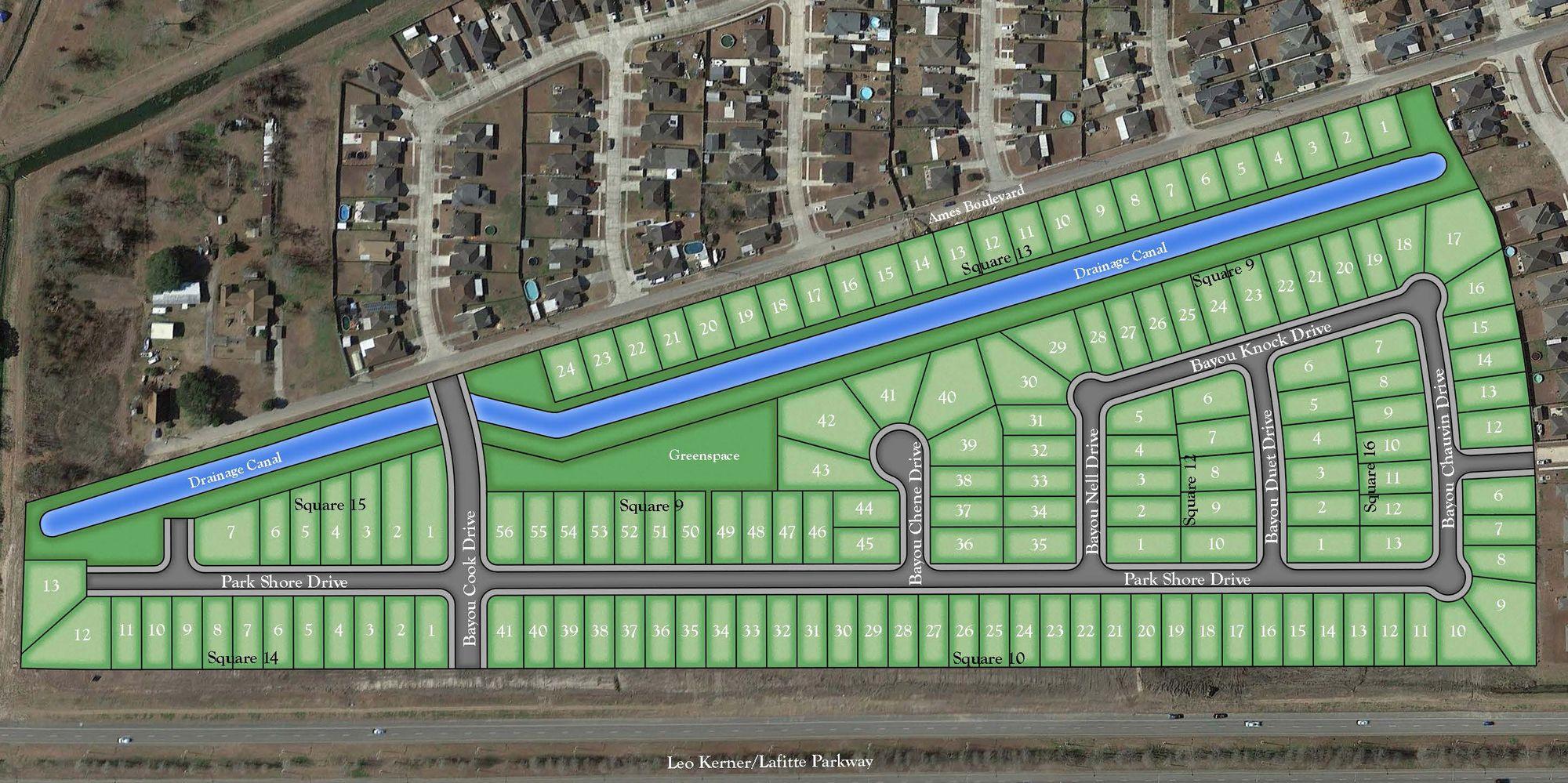 Pelican Bay | Marrero LA New Home Community | DSLD Homes