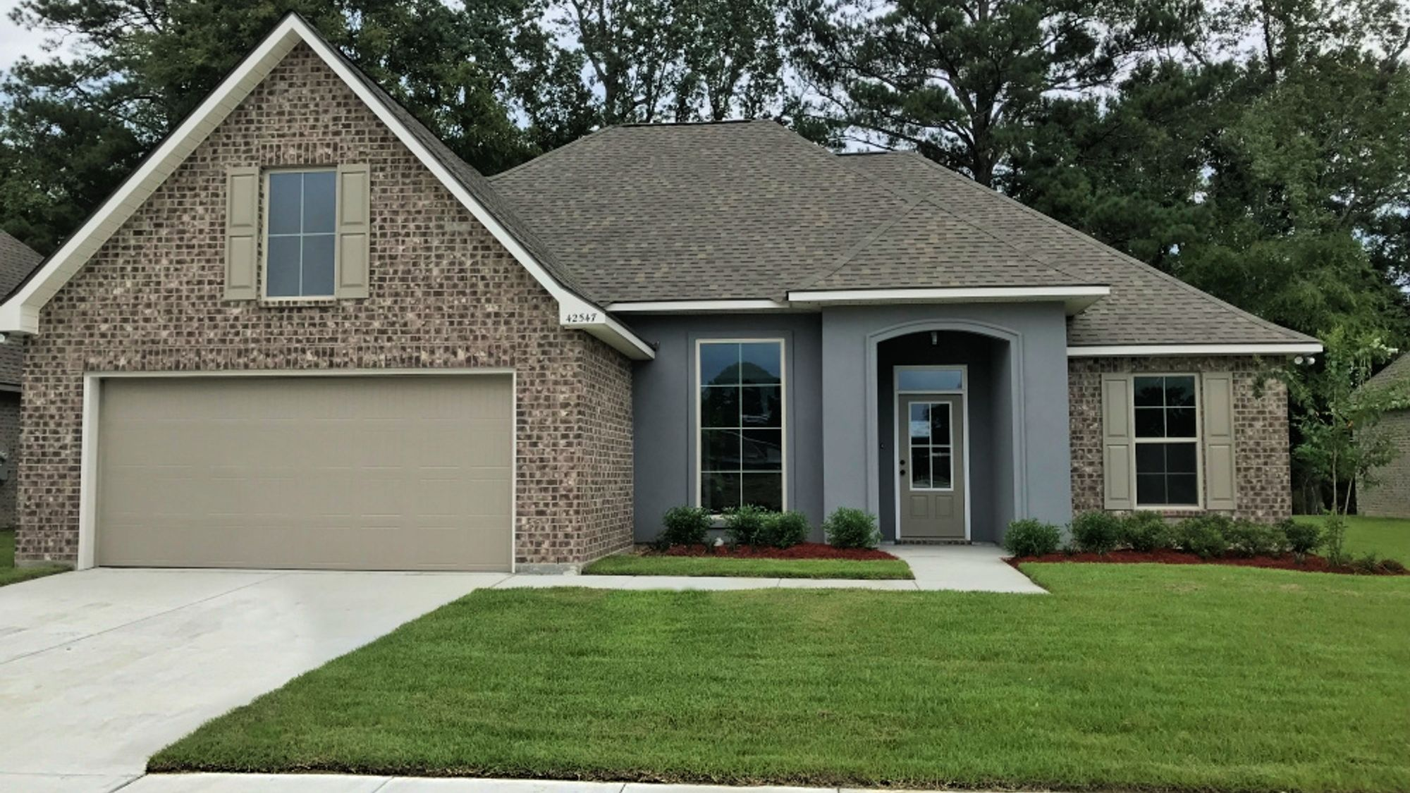 Front View - Cedar Springs Community - DSLD Homes - Gonzales