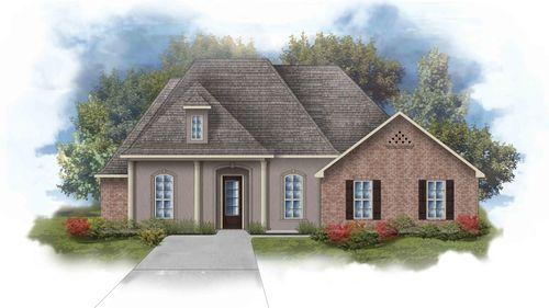 Renoir III D - Front Elevation - DSLD Homes