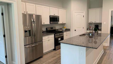 Model Home Kitchen- Talon Estates - Broussard, Louisiana - DSLD Homes