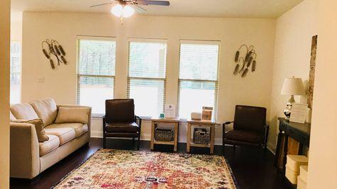 Living Room - DSLD Homes Summerdale - Annabelle Junction