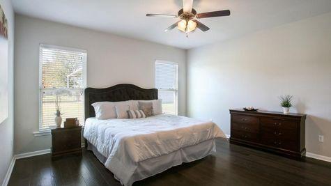 Master Bedroom in Model Home - DSLD Homes - Cottonwood Pond in Youngsville