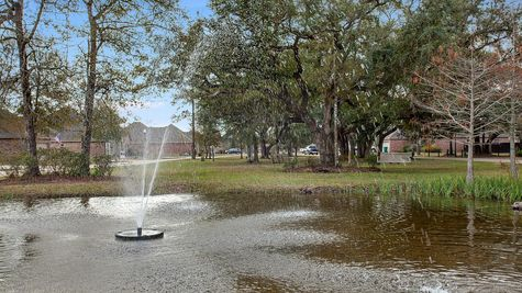 Community Pond- DSLD Homes - Ponchatoula - Blythwood Estates