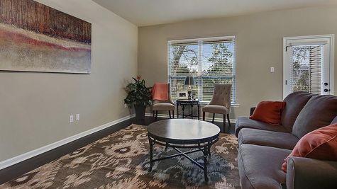 Moss Bluff Model Living Room - Moss Bluff Community - DSLD Homes - Lafayette