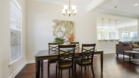 Dining Room Model Home - DSLD Homes - Daphne - Canaan Place