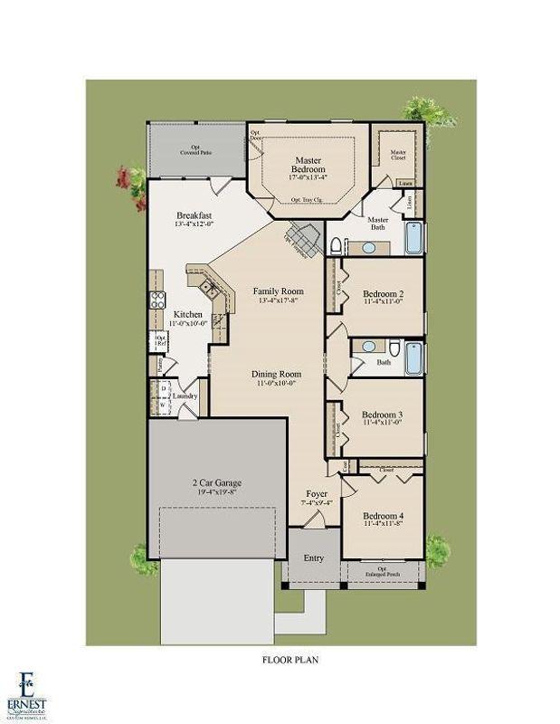 Wassaw Floor Plan