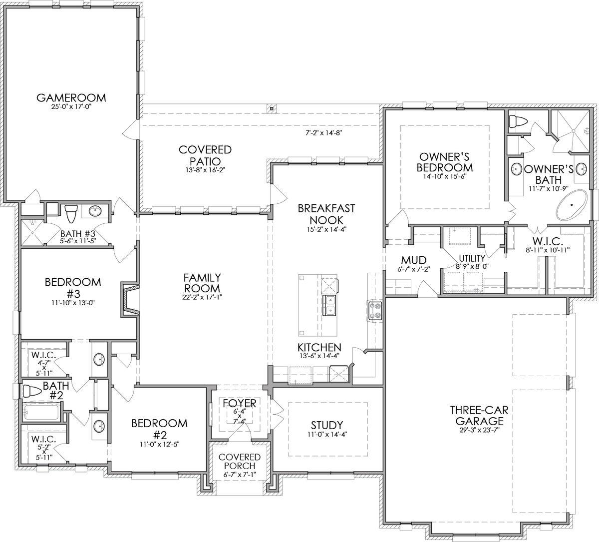 2950 Floor Plan Elevation B