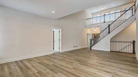 1205 E Sweetbriar Ln, open floor plan - Halen Homes