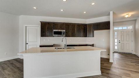 1390 Overlook Circle kitchen - Halen Homes