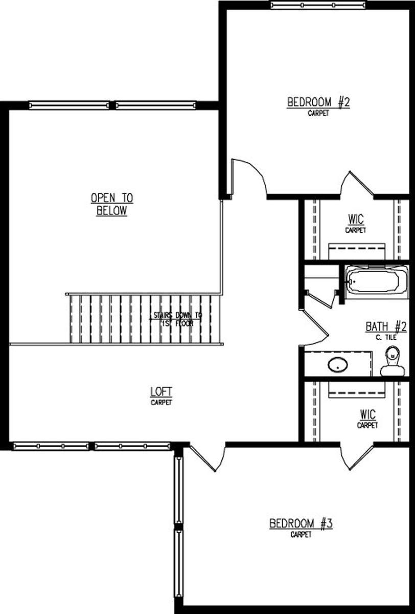1207 E Sweetbriar Ln Floor Plan - Halen Homes