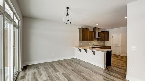 1207 E Sweetbriar Ln, kitchen and dinette - Halen Homes