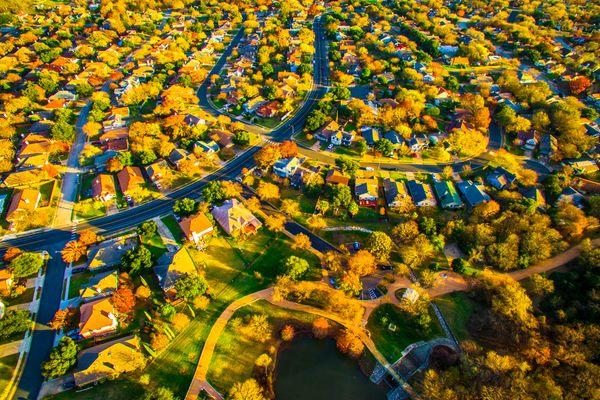 Brookdale Estates Aerial View