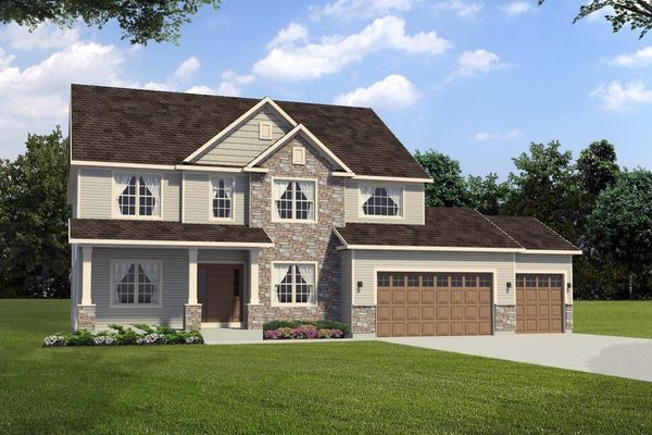 The Whitaker Rendering - Halen Homes