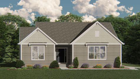 The Merrill Craftsman Elevation - Halen Homes